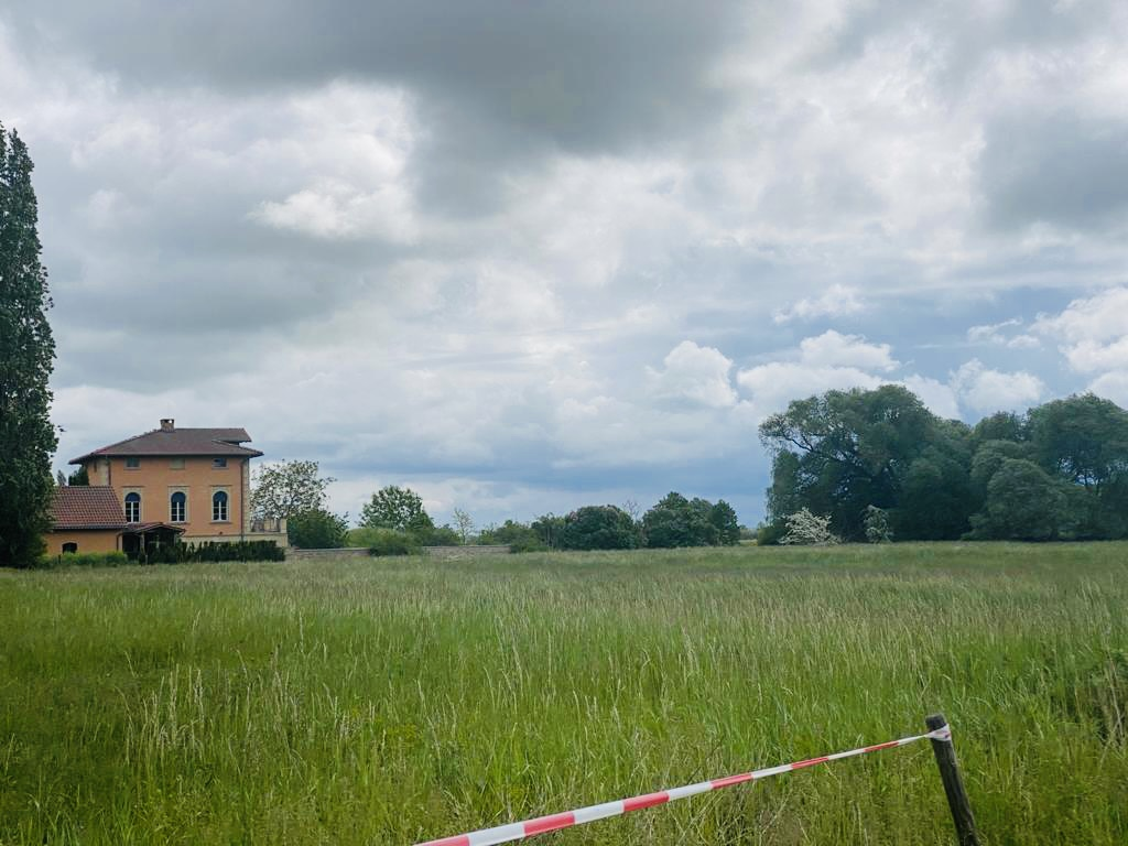 Inder villa wohnte der Ziegeleibesitzer von Päwesin, direkt am Bahnhof des einstigen